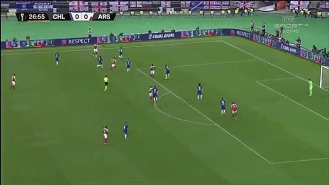 Granit Xhaka fantastic shot against Chelsea!