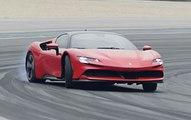 VÍDEO: Ferrari SF90 Stradale, el primer híbrido enchufable del Cavallino