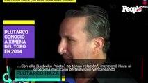 Plutarco Haza, exesposo de Ludwika Paleta, reacciona a las acusaciones contra Emiliano Salinas de pertenecer a una secta