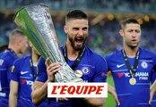 Olivier Giroud, encore un buteur français en finale - Foot - C3 - Chelsea