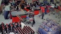 Film gibi soygun girişimi kamerada... Yakalanan soyguncu: 'Şansımı Denedim'
