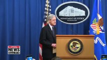 Mueller speaks about Russia investigation in his first public statement