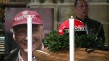 Il mondo della F1 ai funerali di Niki Lauda