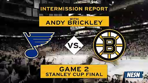 Bruins Vs. Blues Game 2 Stanley Cup Final First Intermission Report