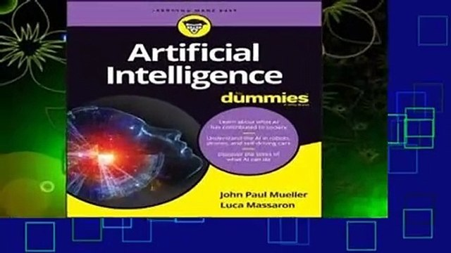 About For Books  Artificial Intelligence for Dummies  Best Sellers Rank : #2
