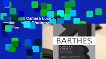 Full E-book Camera Lucida: Reflections on Photography  For Trial