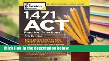 Full version  1,471 ACT Practice Questions Complete