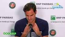 """Roland-Garros 2019 - Roger Federer face aux jeunes : """"Je tiens !"""""""