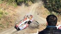 Le spectaculaire crash du leader du Championnat du monde de WRC au Chili