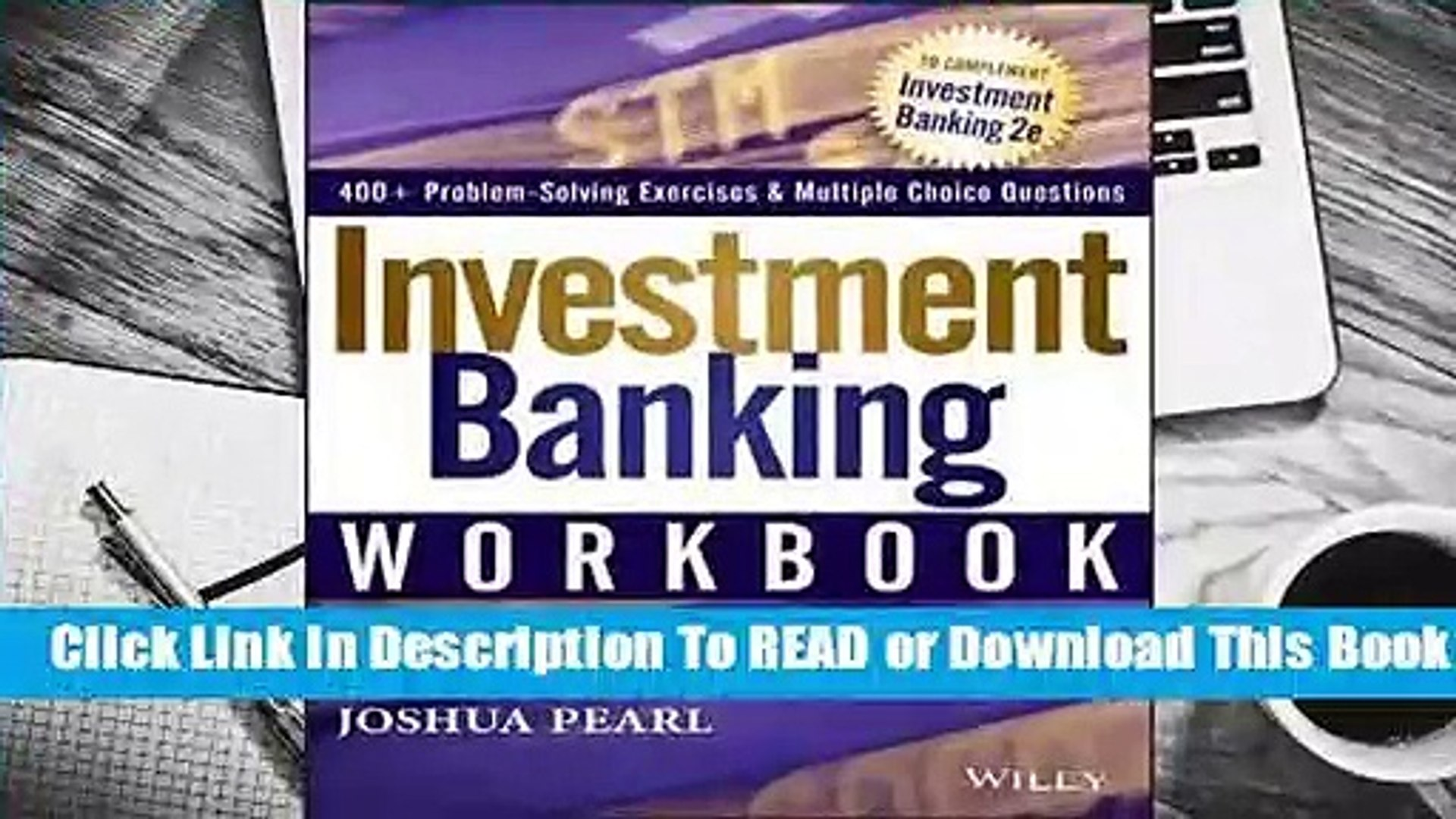 Online Investment Banking Workbook  For Trial