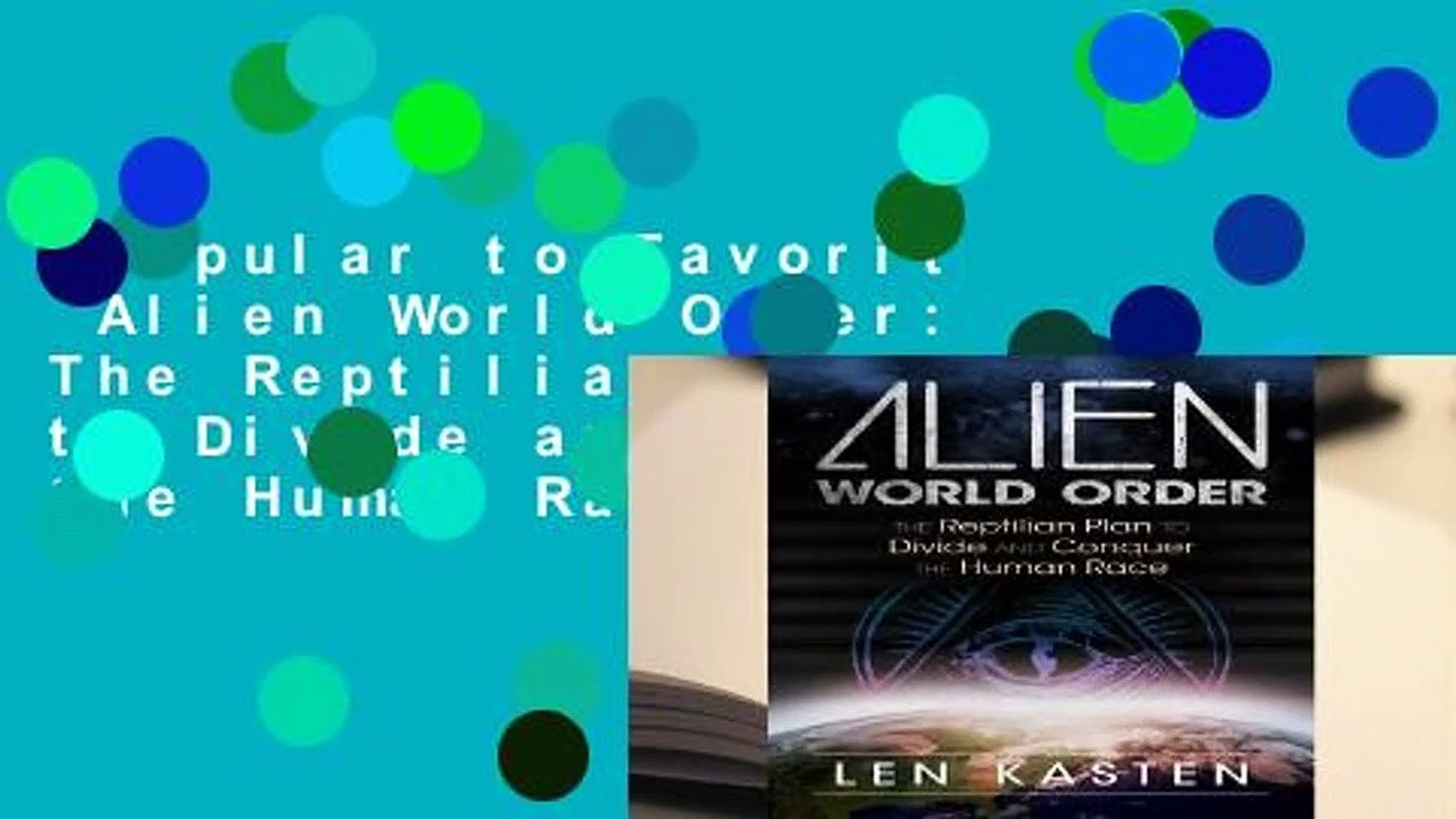 Popular To Favorit Alien World Order The Reptilian Plan To Divide And Conquer The Human Race By