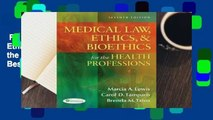 Full E-book  Medical Law, Ethics, & Bioethics for the Health Professions  Best Sellers Rank : #2