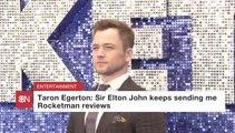 Elton John Keeps Emailing Taron Egerton
