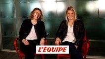 Le Sommer / Pichon, l'entretien croisé en vidéo - Foot - Bleues