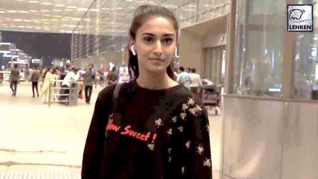 Erica Fernandes Spotted At Mumbai Airport
