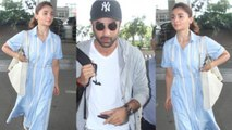 Alia Bhatt and Ranbir Kapoor head to Varanasi for Brahmastra; Watch video | FilmiBeat
