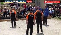 Pétanque : Championnats Territoriaux Rhône-Alpes 2019 à Chabeuil - Barrage TAVIAND (38) vs LOY (69)