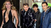 Miley Cyrus Asks Nick & Joe Jonas About How They Felt Taking Off Their Purity Rings