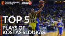 Top 5 Plays, Kostas Sloukas, All-EuroLeague First Team