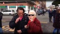 """La nonna inveisce contro Salvini"""" Vattene a F****""""   Notizie.it"""