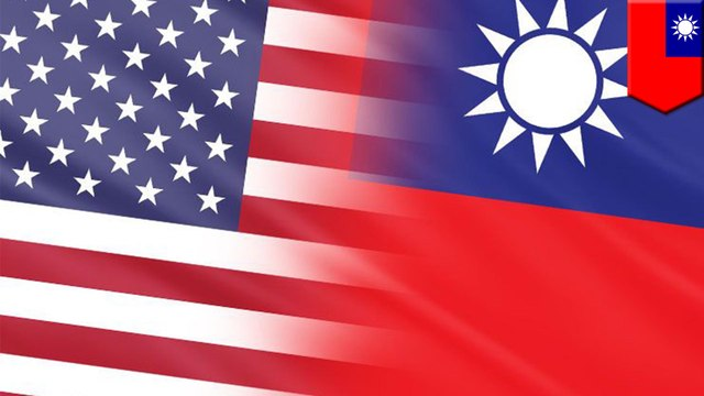 Taiwan and U.S. security officials met, now China is all pouty
