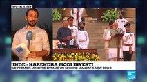 Inde : une cérémonie d'investiture grandiose pour Narendra Modi
