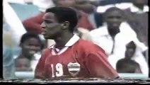الشوط الاول مباراة مصر و جنوب افريقيا 1-0 كاس افريقيا 1996