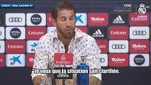 Sergio Ramos annonce qu'il reste au Real Madrid