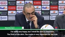 Europa League trophy important for Chelsea - Sarri