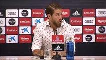 """Sergio Ramos: """"No me quiero ir del Real Madrid, mi sueño es retirarme aquí"""""""