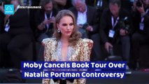 Moby Cancels Book Tour Over Natalie Portman Controversy