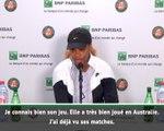 Roland-Garros - Serena Williams : ''Hâte de jouer Kenin''