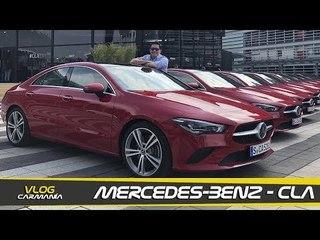 Mercedes-Benz CLA - a prueba en Múnich, Alemania (VLOG)