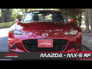 Mazda MX-5 RF a prueba - CarManía (2019)