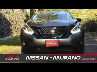 Nissan Murano Midnight Edition a prueba - CarManía (2019)