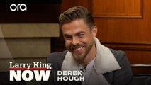 Derek Hough describes embarrassing moment while dancing with Jennifer Lopez