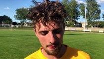 Coupe du Rhône (1/2 finale) – Arthur POULET réagit après l'élimination de MDA FOOT B contre le FC VAULX B