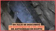 Internacional   Luego de la espera, abren sarcófago de 2 mil años de antigüedad