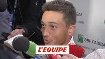 Hoang «Important de garder les pieds sur terre» - Tennis - ATP - Roland-Garros