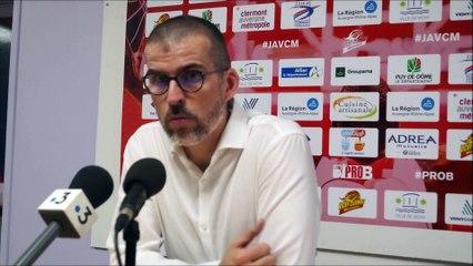 En conférence de presse : J.A.VCM / Gries-Oberhoffen (1/4 de finale Playoffs Pro B)