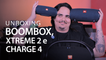 JBL CHARGE 4, XTREME 2 e BOOMBOX - Testamos as caixas mais populares [Unboxing]