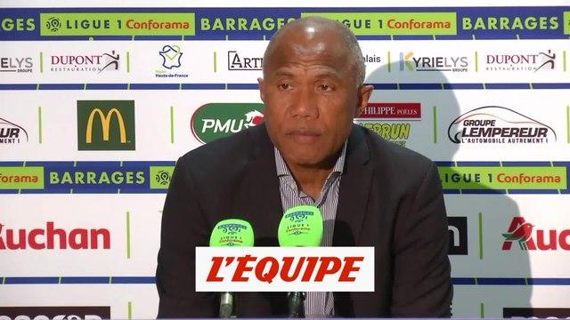Kombouaré «J'ai les boules» - Foot - Barrages L1-L2 - Dijon