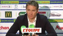 Montanier «On garde nos chances intactes» - Foot - Barrages L1-L2 - Lens
