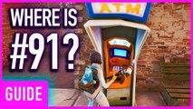 Fortnite - Week 4 Secret FortByte Puzzle Piece Location Guide (Season 9 Utopia Challenge)