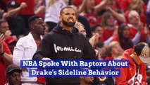 The NBA Gets Involved With Drake's Courtside Antics