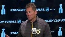 Boston Bruins speak ahead of Game 3 Stanley Cup Final