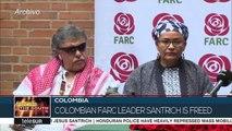 Farc Leader Jesus Santrich Is Finally Free