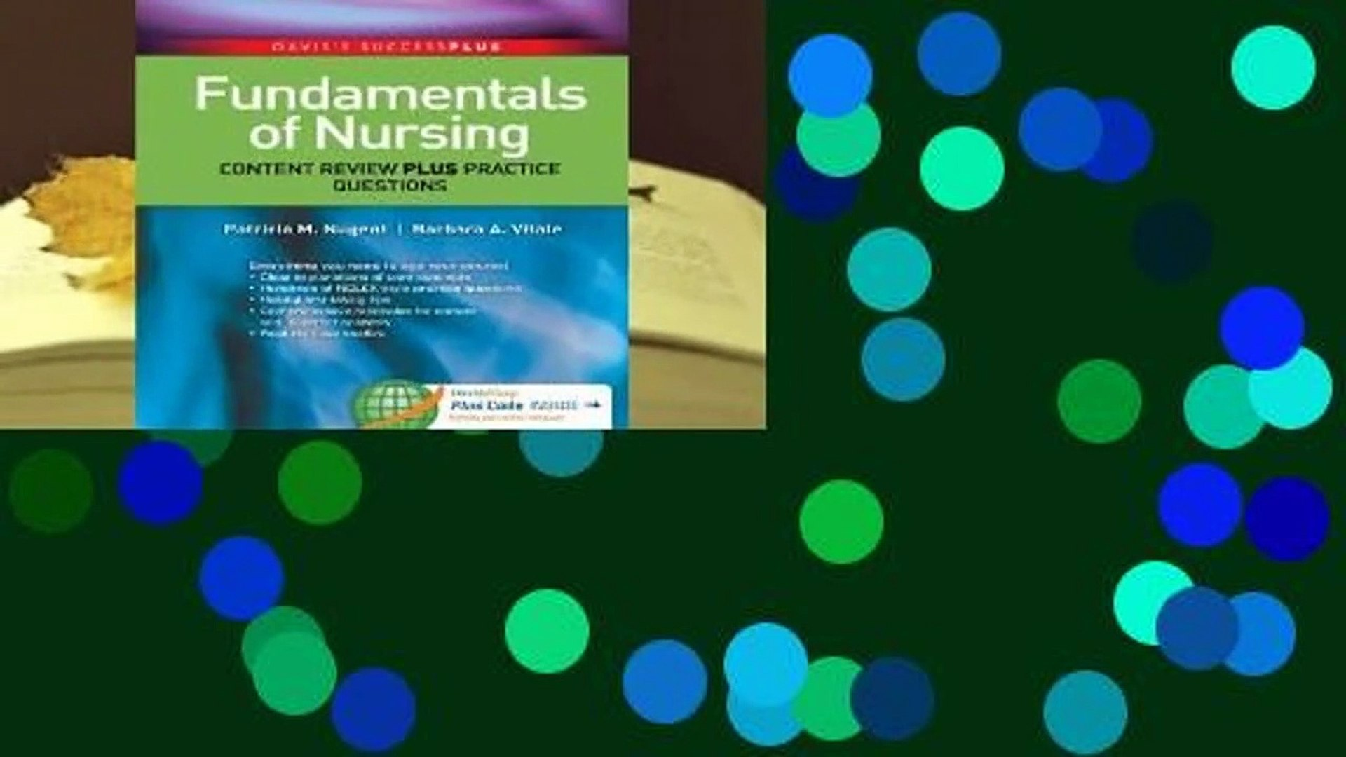 Full E-book Fundamentals of Nursing: Content Review Plus Practice Questions  For Free