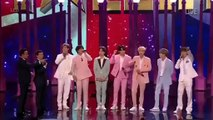 Jin from BTS Gives A Special Gift To Dec Semi - Finals BGT2019