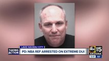 NBA referee arrested for DUI after crashing into tree